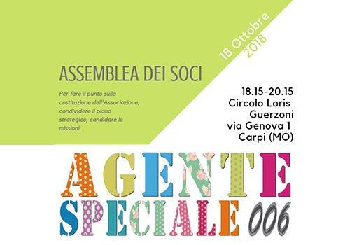 Assemblea straordinaria dei soci e delle socie di Agente Speciale 006