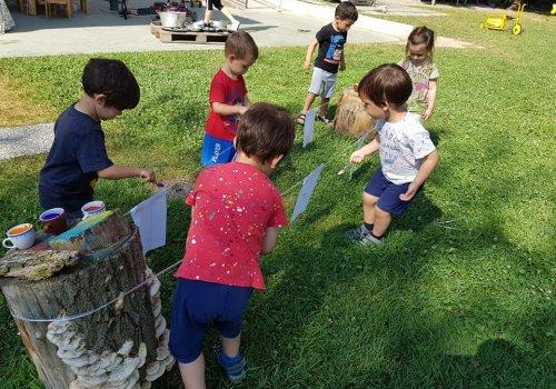 """Il centro estivo della Scuola dell'infanzia """"Matilde Capello""""... e un po' di storia"""